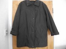 Women's Chocolate Thigh Length Unbranded Padded Jacket Size 10