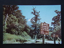 THE DIVIDE MILFORD ROAD SIGNBOARD POSTCARD