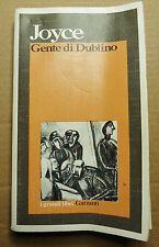 1982c=GENTE DI DUBLINO= JOYCE. Romanzo - Avventura Lieto Fine...ETNA