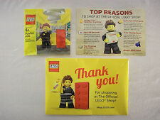 Lego Store Employee Minifigure Legoshop.com Exclusive 2013 Brand New MISB RARE