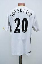 MANCHESTER UNITED ENGLAND 2006/2007 AWAY FOOTBALL SHIRT JERSEY SOLSKJAER #20