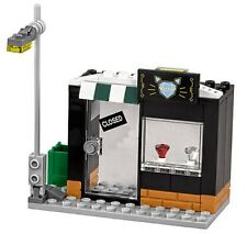 LEGO DC COMICS BATMAN MOVIE STREET SCENE / JEWELRY STORE - SPLIT FROM SET 70902