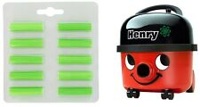 HENRY HETTY hoover VACUUM CLEANER AIR FRESHENER PELLETS PACK OF TEN POP IN BAG