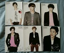 EXO K SM SMART EXHIBITION OFFICIAL PHOTO CARD SET KAI SUHO SEHUN BAEKHYUN