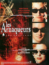 Affiche 120x160cm LES ARNAQUEURS (THE GRIFTERS) 1991 Anjelica Huston, Cusack BE