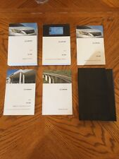 2010 Lexus RX350 COMPLETE Factory Owner's Manual + NAVIGATION + Leather Pouch