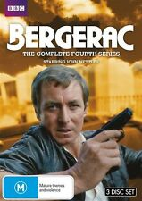 Bergerac : Complete Series 4 (DVD, 2012, 3-Disc Set) New & Sealed