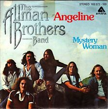 """7"""" Allman Brothers Band – Angeline / Mystery Woman / Germany 70er"""