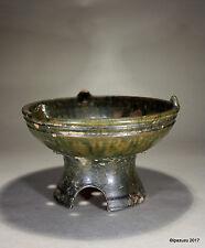 Antico Cinese Earthenware Brazier dinastia Han