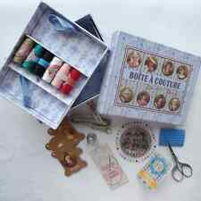 French Sajou Sewing Kit - Needlework, Cross Stitch, Embroidery