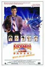 "The Adventures of Buckaroo Banzai Poster [Licensed-NEW-USA] 27x40"" Theater Size"