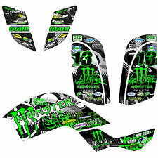STICKER KIT FOR YAMAHA RAPTOR 660 + YFM 660 + GRAPHICS KIT + MOTOCROSS STICKERS