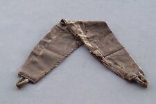 2x Curtain tie backs Holdbacks Fabric Velvet curtain ties tiebacks Brown/Gold Nw