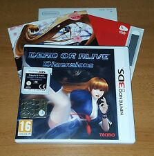 GIOCHI NINTENDO 3DS DEAD OR ALIVE DIMENSIONS ITALIANO PAL ORIGINALE