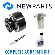 COMPLETE AC A/C REPAIR KIT WITH NEW COMPRESSOR & CLUTCH FOR CHEVY GMC TRUCKS