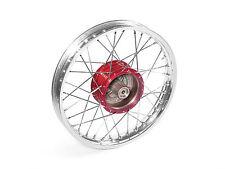 """Speichenrad 16"""" Nabe ROT Felge Aluminium Alu MOPED MOKICK S50 S51 S70 KR51 SR4-2"""