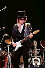 "12""*8"" concert photo of Bob Dylan, playing at Blackbushe in 1978"