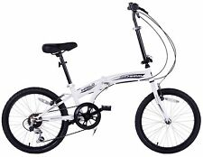 """CHEAPEST COMPACT FOLDING CYCLE BIKE CITY FOLDER BICYCLE BOAT 20"""" WHEEL 6 SPEED"""