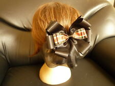 New Ribbon Bow hair clip with snood net ,bun cover Ballet Dance Beautifull .