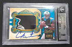 #/49 Cam Newton BGS 9 MINT 2011 National Treasures Gold Auto Jumbo Patch RC #328