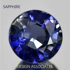 BLUE SAPPHIRE 1.5 MM ROUND BEST BLUE COLOR 2 PCS $1.19