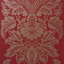 Arthouse Napoli Red Wallpaper Victorian Class Gold Glitter Vintage Damask 673803