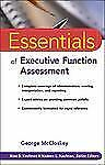 Essentials of Executive Functions Assessment (PB) with CD-Rom