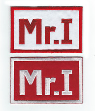 DETROIT RED WINGS Mike Ilitch MR.I 2016-17 Memorial Iron-on JERSEY PATCH SET