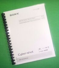 COLOR PRINTED Sony Camera Cyber-Shot DSC HX10 HX10V Manual Guide 64 Pages