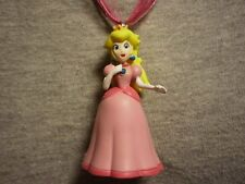 Princess Peach Super Mario Brothers Figure Charm Necklace Collectible Jewelry