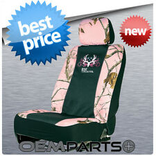 BONE COLLECTOR PINK SEAT COVER UNIVERSAL CAMOUFLAGE POLYESTER CAMO DODGE TOYOTA