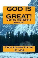 God Is Great : How Hitchens and His Ilk Distort God and Religio... not...
