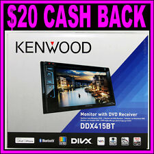 "Kenwood DDX415BT 7"" Bluetooth DVD CD iPod iPhone MIXTRAX Car Player Receiver"