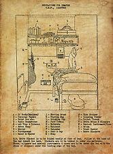 Enmarcado impresión – Alcatraz Celda los Reglamentos (cuadro De Arte Cartel ejecución)