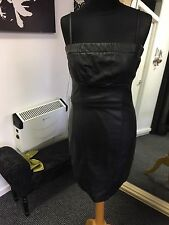 Black Strapless Fitted dress Size 2