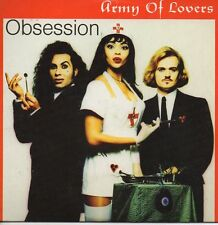 ★☆★ CD Single ARMY OF LOVERS Obsession 4-Track card sleeve RARE ★☆★