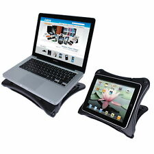LASER LAPTOP STAND RISER ADJUSTABLE COLLAPSIBLE FR IPAD NETBOOK MACBOOK AOLSTR02