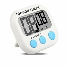 Large LCD Digital Timer Loud Alarm Magnetic Kitchen Cooking Count-Down Up