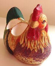 VINTAGE ceramica Gallo dipinto a mano/GALLO/Gallina Egg Holder