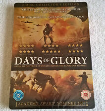 Days Of Glory (DVD, 2008, 2-Disc Set) - Steelbook - Brand New & Sealed