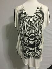 NEW Urban Outfitter Sparkle And Fade Oversized Long Tunic Top Tee Size M 10-12