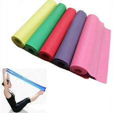 Fashionable Yoga Pilates Rubber Stretch Resistance Exercise Fitness Band Belts