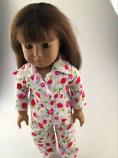 2016 cool  pajamas clothes dress for 18inch American girl doll party  b366