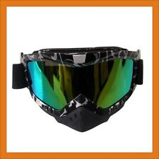 Adult Motocross Motorcycle Dirt Bike ATV MX Off-Road safety Goggle Sunglasses