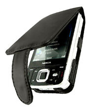 NEW Black Vertical Leather Case Cover for Nokia N96 UK