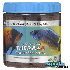 New Life Spectrum Thera A + 250 g 8.8 oz Fish Food 2mm Sinking Pellets Plus NLS