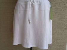 Green Tea Cotton  Stretch Fabric Short Skort XL White msrp. $58.
