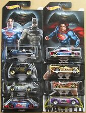 Batman Vs Superman Hot Wheels Lote De 8 Diecast vehículos-Set De 7 + 1-cardadas