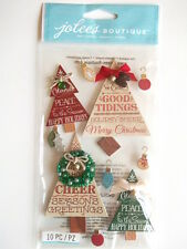 JOLEE'S BOUTIQUE STICKERS - HOLIDAY WORD TREES Christmas