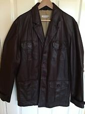 JOHN ROCHA MENS LEATHER JACKET
